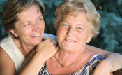Women Smiling After Breast Reconstruction Surgery