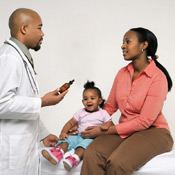 Doctor and Patient Consultation