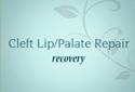 Cleft Lip Surgery Recovery Video