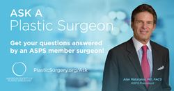 A plastic surgery Q&A with ASPS President Alan Matarasso, MD, FACS