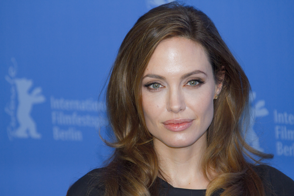 Opinion you Angelina jolie boob size