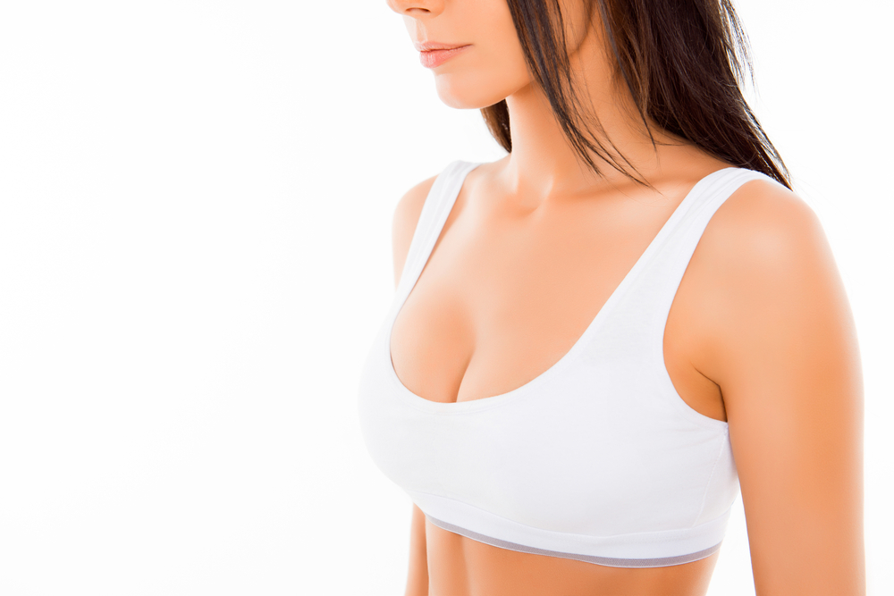 Breast enhancement photos by patient