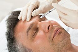 What can men expect during their dermal fillers recovery?