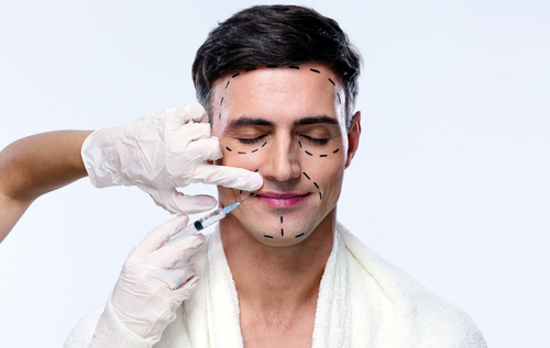 Most commonly requested plastic surgery for men