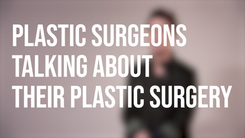 Plastic Surgeons Talking About Their Plastic Surgery – Neck Lift