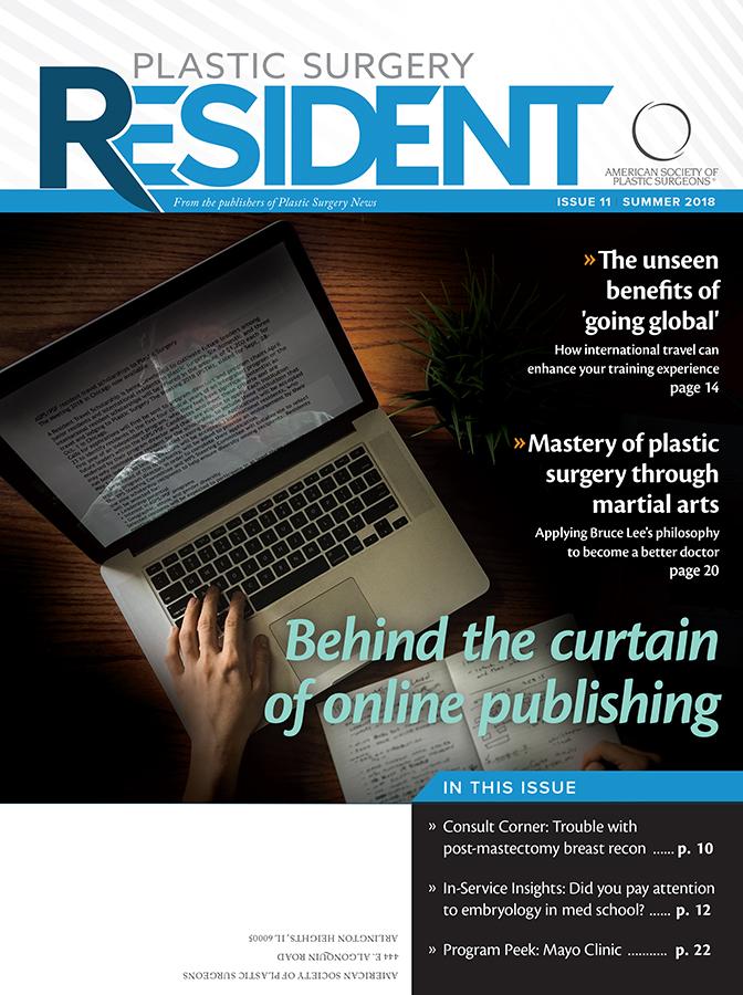 Plastic Surgery Resident | American Society of Plastic Surgeons